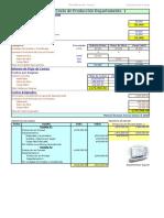 Informe de costos de produccion por departamento