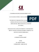 Estudio de Factibilidad Para La Elaboración y Exportación de Zapatos Ecológicos a Base de Derivados Del Árbol de (1)