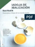 La Paradoja de La Globalización, Dani Rodrik