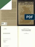 Diccionario de Conceptos de Arte Contemporáneo - Hubertus Butin (Ed.)