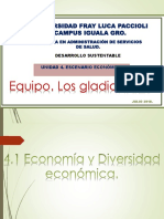 UNIDAD 4 Escenario Economico