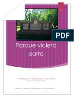 Informe Plaza Violeta Parra