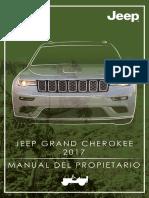 Jeep Grand Cherokee Manual de Usuario 2017
