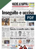 Cronache Di Napoli 18 Aprile 2010
