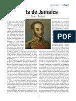 Carta de Jamaica_Bolivar