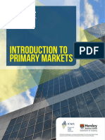 Introduction to Primary Markets 010218