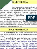 Enzimas e Bioenergetica