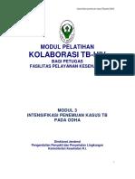 MI 3, Intensifikasi TB Pada ODHA