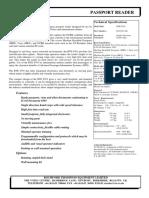 RTE 6701 OCR Passport Reader