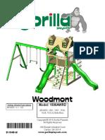 Gorilla Woodmont Manual