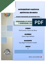 INFORME DE CEO Y CV