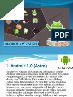 Sejarah Perkembangan Android