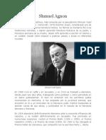 Biografia de Shmuel Agnon