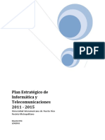 Plan Estrategico Informatico