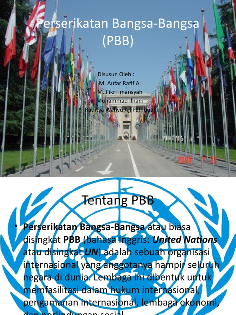 Perserikatan Bangsa Bangsa