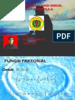 Gamma, Beta, Dan Fungsi Error.pptjadi
