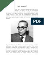 Biografía de Ivo Andric