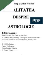 j Ankerberg Si j Weldon Realitatea Despre Astrologie