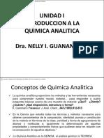 Uni i. Introduccion a La Quimica Analitica