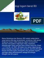 Toksikologi B3