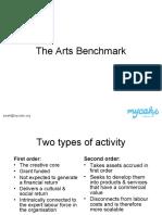 Arts Benchmark & Sustainability - VAGA 28/09/10