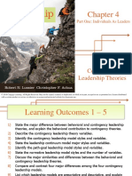 Chapter 4 Contingency Leadership Theories