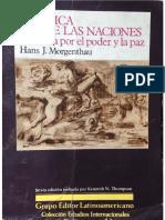314086351 Hans J Morgenthau Politica Entre Las Naciones Completo