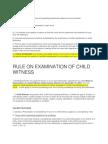 Child Witness