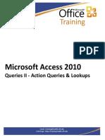 Access2010QueriesII Handouts