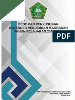 Kaldik Madrasah Jateng 2018 2019 Rev