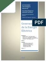 Generacion de La Energia Electrica