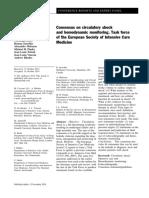 Consensus on Circulatory Shock