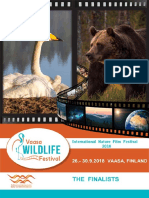 Vaasa Wildlife Festival 2018- List of Finalists & Special award nominees