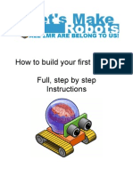 Sample of Making a Simple Robot