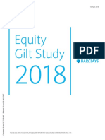 Barclays Equity Gilt Study 2018
