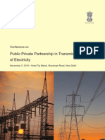 Conference on PPP in Transmission of Electricity on 2 Nov 2010