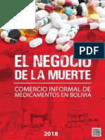El Negocios de La Muerte Comercio Ilegal de Medicamentos en Bolivia