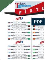 Fixture Russia 2018