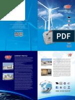 OUTDO Energy Storage Battery Catalog (2017)