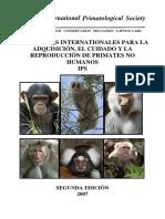 ISP Primates Manual Care