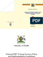 National HIV Testing Services Policy and Implementation Guidelines