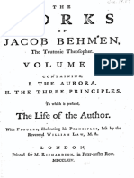 395443 Jacob Bohme Vol 1 I Aurora