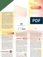Folder DEGERTS Ministerio da Saude