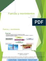 Fuerzas y Movimientos