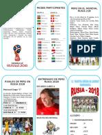 TRIPTICO - RUSIA 2018