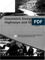 AASHTO - Geometric Design of Highways and Streets 2004