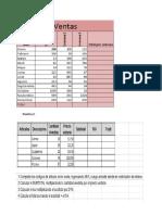 Practica Excel - 2do