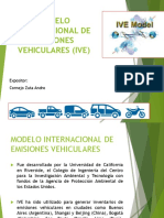 Modelo Internacional de Emisiones Vehiculares
