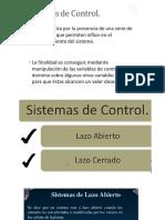 Sistemas de Control (1)