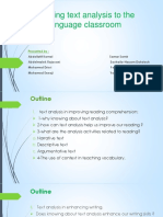 BringingText Analysis Presentation